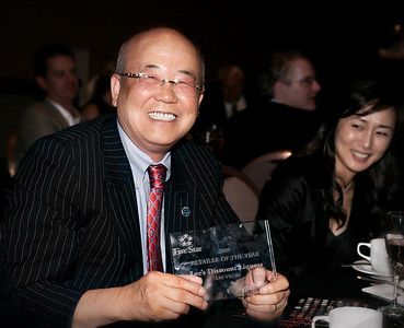 "Mr. Lee, owner and genius behind Lee's Discount Liquors, wins Five Star ""Retailer Of The Year"" at 5 Star Awards Dinner at Mandalay Bay."