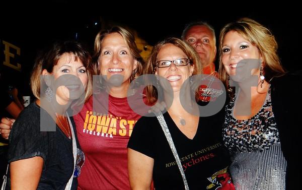Sara Potratz, Lila Heatherington, Amy Baker, and Andi Adams. Photo bombed by Al Little.