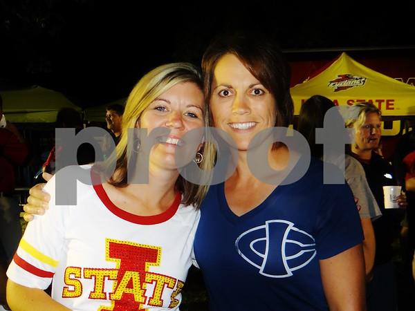 Kim Galles and Jennifer Kinney