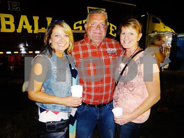 Anne Payne, Al Little, and Karen Little