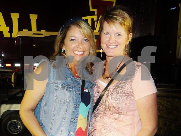 Anne Payne and Karen Little