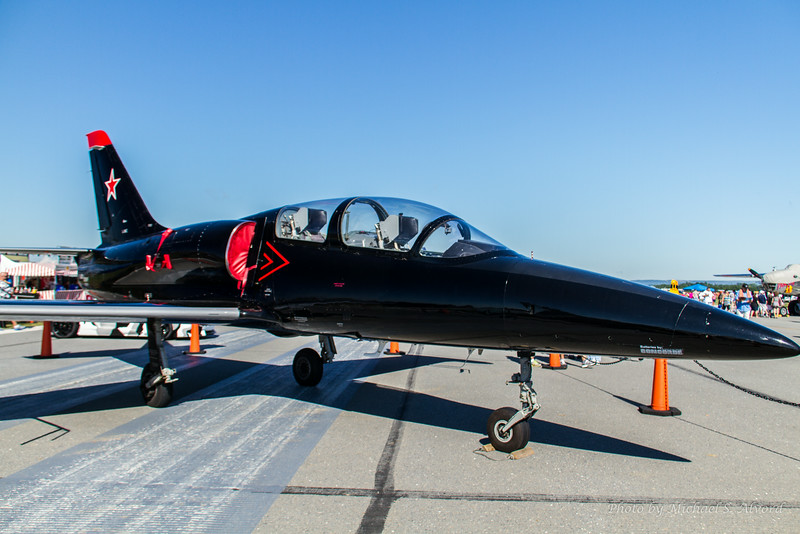 This jet was at the show but didn't perform.