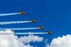 The Canadian Harvards T-6 Aerobatics team.