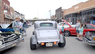 Erica Benson-ebenson@shawmedia.com The Lemont car show rolls into town Wednesday, June 5th 2013. The car show continues weekly throughout the summer.