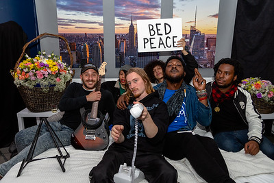 2018_10_17, Adorama, Bed, Bed In, Blac Rabbit, New York, NY, Photo Booth