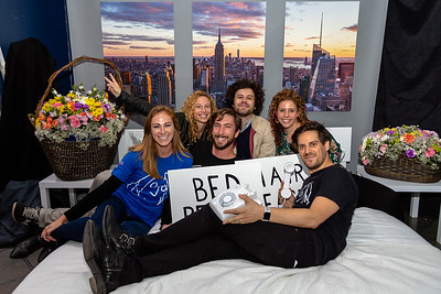 2018_10_17, Adorama, Bed, Bed In, Jaime Walden, Kristin Kehlet, Matt Reich, Michael Angelakos, Names, New York, NY, Photo Booth, Steven Meloney
