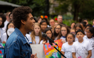 2018, Christopher Underwood, City Hall, Come Together NYC, New York City, September 13