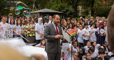 2018, City Hall, Come Together NYC, New York City, September 13, Corey Johnson,