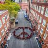 2017_10_05, New York, NY, Peace Sign, Urban Assembly