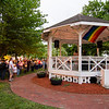 A large crowd gathered during a vigil in remembrance of the Orlando shooting victims on Monday evening on the Fitchburg Upper Common. SENTINEL & ENTERPRISE / Ashley Green