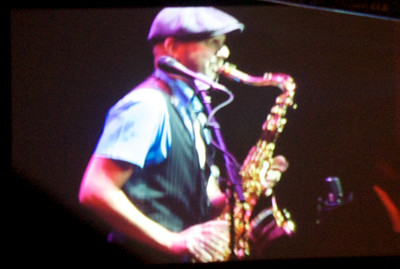Dino Soldo on Saxophone