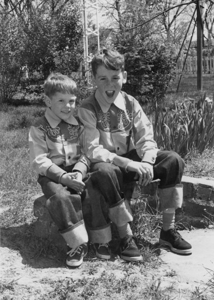 Scott & Tim Circa 1954