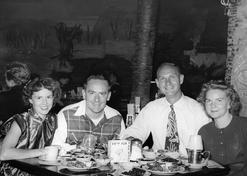 Mom, Dad, Clemens James Rardin  (Curley), Lavonne Rardin