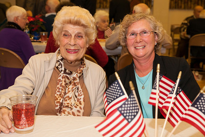 Patriot photos by Roxanne Richardson Janet Peters and Lynn Kopicz, both from Fleetwood and long-time friends.
