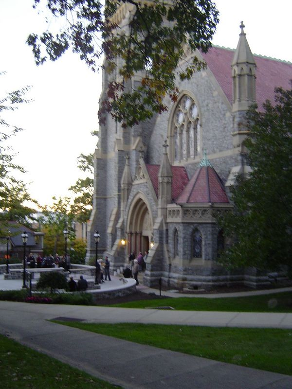 Packer Chapel at Lehigh University, Bethlehem, PA