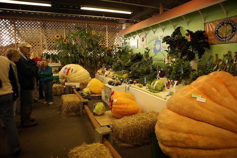Giant veggies