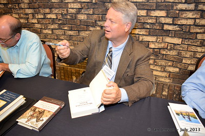 Clay Jenkinson - signing books