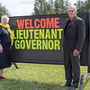 Visit of Ontario Lieutenant Governor Elizabeth Dowdeswell to Moosonee 2018 August 14. - with Moosonee Mayor Wayne Taipale.