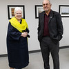 Visit of Ontario Lieutenant Governor Elizabeth Dowdeswell to Moosonee 2018 August 14. with Moosonee Mayor Wayne Taipale.