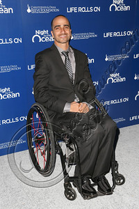 "MARINA DEL REY, CA - NOVEMBER 10:  Life Rolls On founder Jesse Billauer arrives at the Life Rolls On foundation's 9th annual ""Night by the Ocean"" gala at Ritz Carlton Hotel on November 10, 2012 in Marina del Rey, California.  (Photo by Chelsea Lauren/WireImage)"