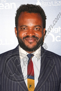 "MARINA DEL REY, CA - NOVEMBER 10:  Host Sal Masekela arrives at the Life Rolls On foundation's 9th annual ""Night by the Ocean"" gala at Ritz Carlton Hotel on November 10, 2012 in Marina del Rey, California.  (Photo by Chelsea Lauren/WireImage)"