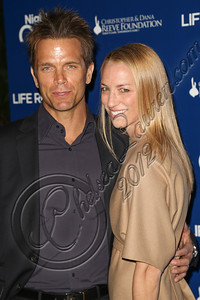 "MARINA DEL REY, CA - NOVEMBER 10:  Actor David Chokachi (L) arrives at the Life Rolls On foundation's 9th annual ""Night by the Ocean"" gala at Ritz Carlton Hotel on November 10, 2012 in Marina del Rey, California.  (Photo by Chelsea Lauren/WireImage)"