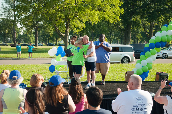 MOTTEP Gift of Life Walk / Run 2015 on Belle Isle, Detroit, MI. July 25, 2015.
