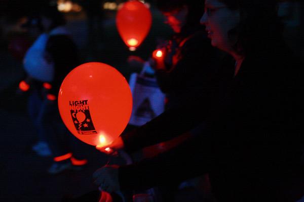 Light the night Cancer walk