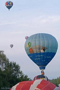 the Drake balloon!  Piloted by Jim Drake