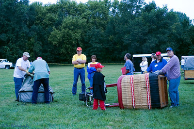 Ameristar team setting up