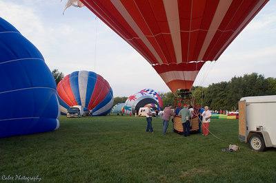 Ameristar Balloon taking on their passenger