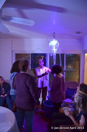 Art Vortex Light Show - April 2013