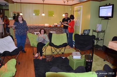 Open House @ new Lighting Up Charlotte center 1-12-13