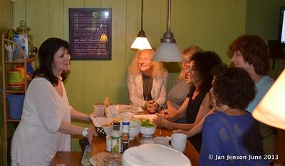 Tinka Smith visit to Lighting Up Charlotte June 25 & 26, 2013