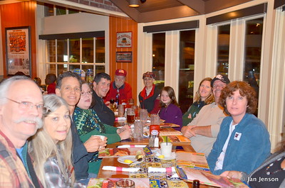 The gang gathered for supper at Chili's after an all-day presentation at The Marriott... GREAT JOB WES - THANK YOU!!!