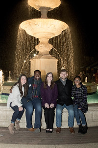 Lighting of the Fountain 2017