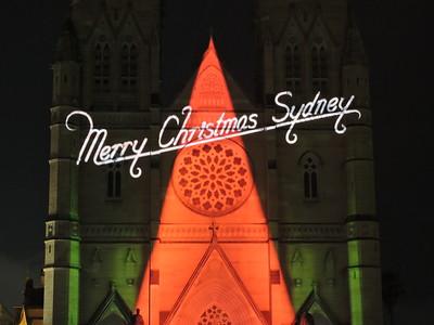 Lights of Christmas 2015, Sydney - Australia