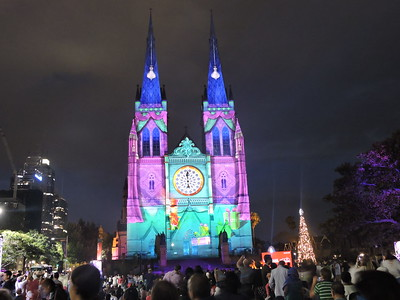 Lights of Christmas 2016, Sydney - Australia