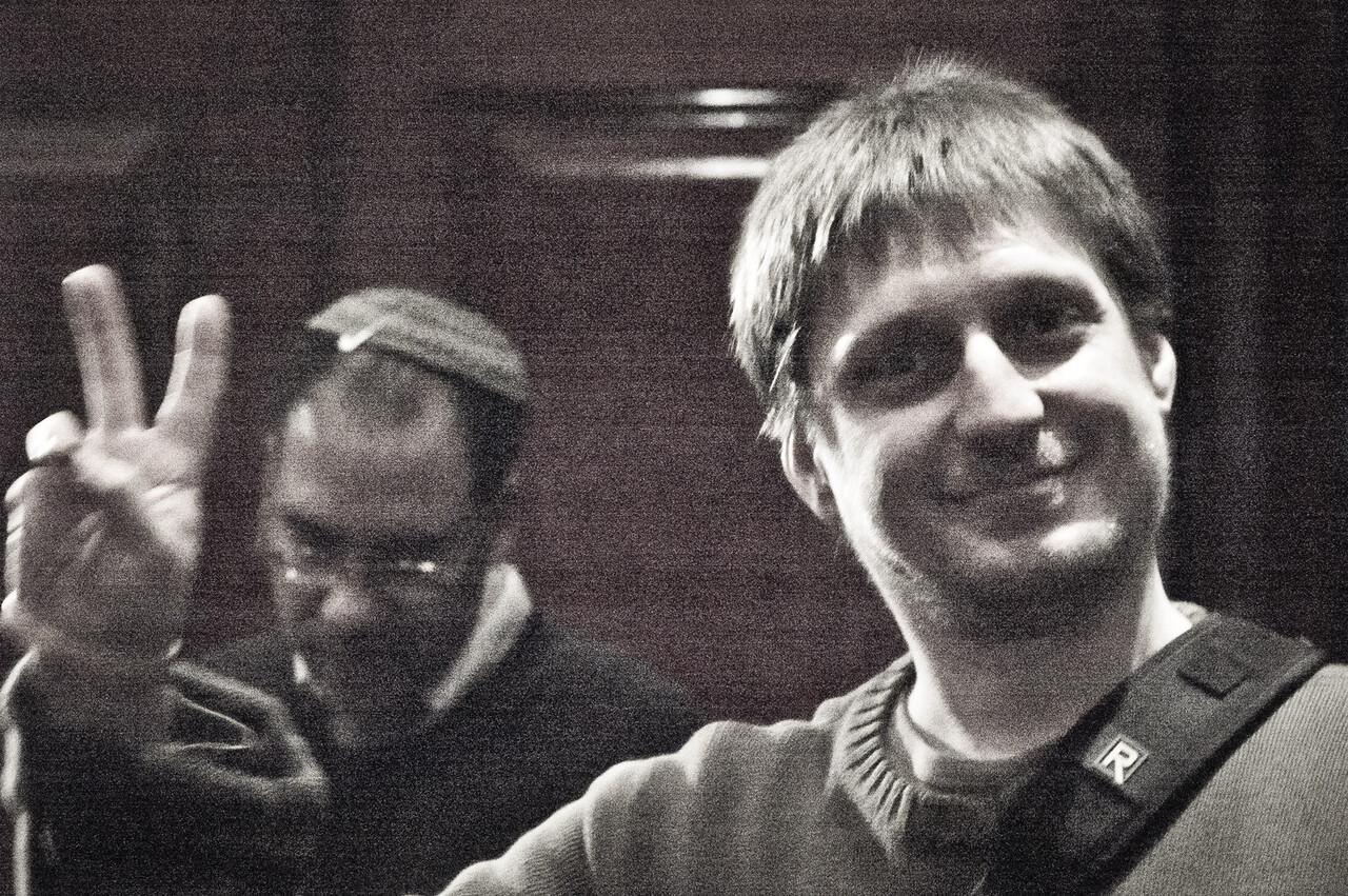 David Rabkin at Leonardo, Ramat Gan