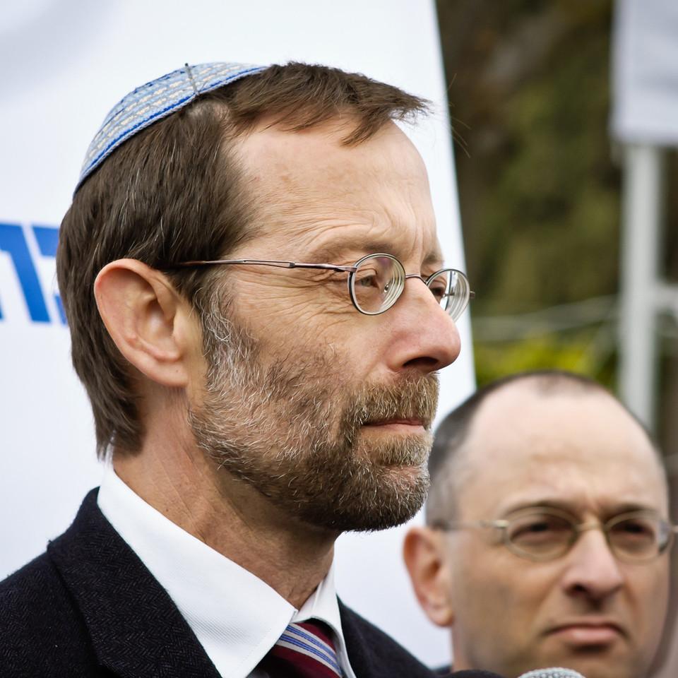 Moshe Feiglin at Jerusalem