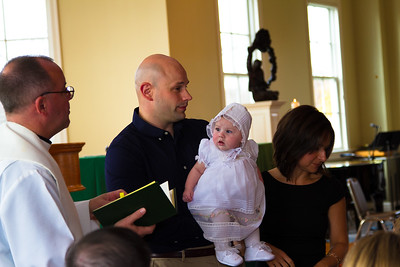 Lily Parlin Baptism