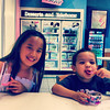 Sunday, August 5, 2012 - Little Miss Kylie and Luke eating some good old fashion BR ice cream
