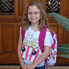 Monday, August 6, 2012 - First day of school (4th grade) for Kasey Wochner