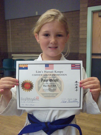 Lim Kenpo Family - Red Mountain Belt Promotion