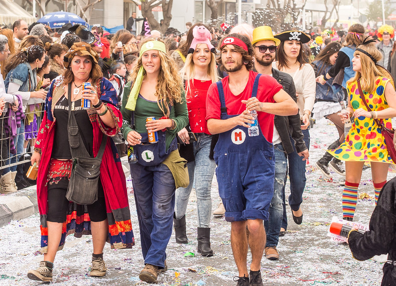Carnival in Limassol 2014