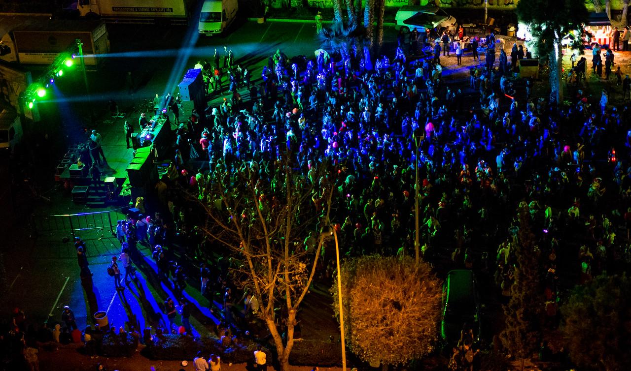 Limassol Carnival 2016 at night