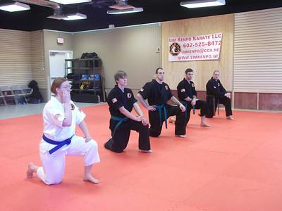 Lim's Hawaii Kenpo Advanced Belt Test 2012