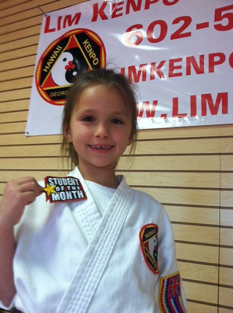 Lim's Hawaii Kenpo April 2012 Students of the Month