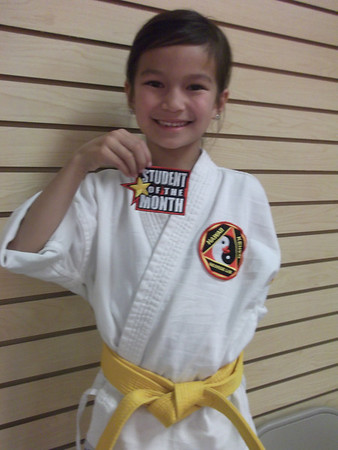 Lim's Hawaii Kenpo February 2012 Students of the Month