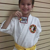 Samantha Bowley-January 2012 Lim's Hawaii Kenpo Student of the Month